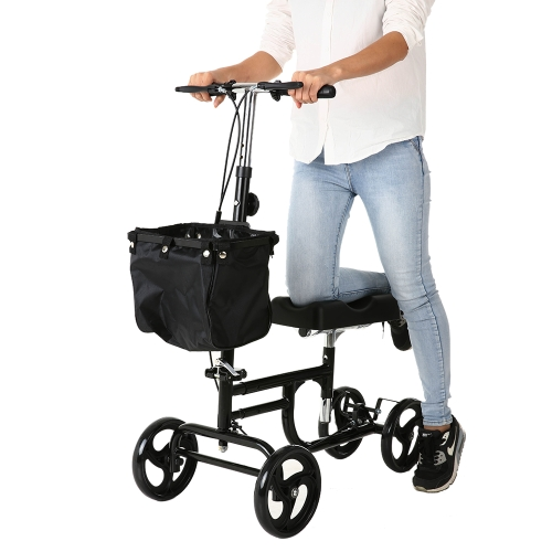Carevas Steerable Knee Walker Складной коленный скутер CE / FDA / FSC Approved