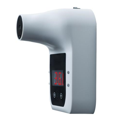 Berührungsloses Infrarot-Stirnthermometer 0.5S Schnelltest mit Alarm ohne Batterie