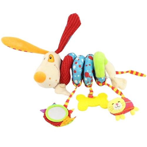 Baby Crib Toys Kids Activity Spiral Wrap Around Bed
