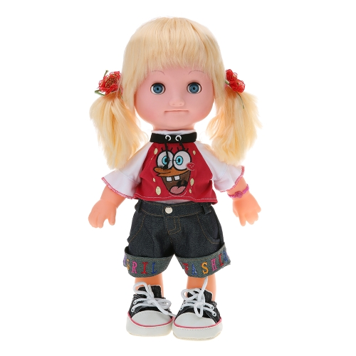 41cm / 16.1in Conversation Talking Singing Story Teller Baby Doll Early Education Toys Gift Boneca