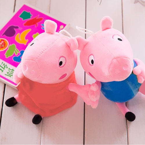 Cute Peppa Family Pig Plush Stuffed Toys