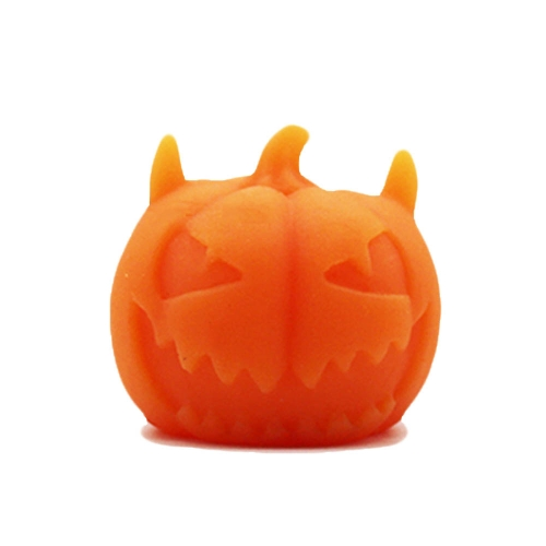 1Pcs Soft Glue Pumpkin Toy Healing Squeeze Stretch