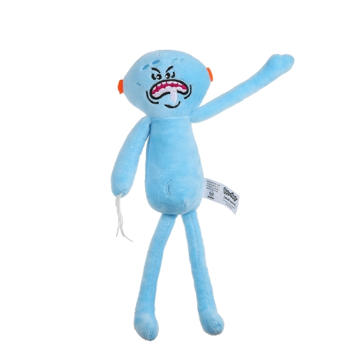 25CM Mr MeeSeeks Rick and Morty Plush Toy for Kids