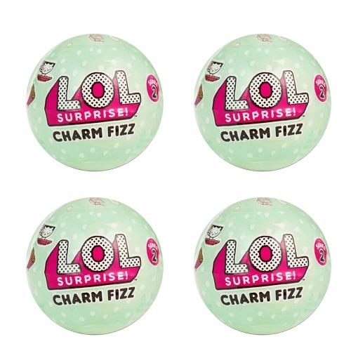 4Pcs LOL Surprise Charm Fizz Series 2