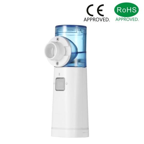 Decdeal Medical Handheld Mesh Nebulizer Ultra Silencioso Ajude a aliviar os sintomas respiratórios da asma COPD etc.