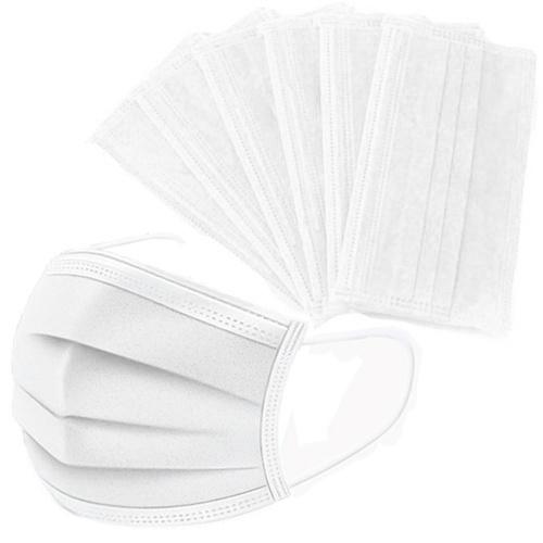 50PCS Gesichtsmaske Einweg Anti PM2.5 Anti Partikelmaske Atmungsaktive staubdichte Mundmaske