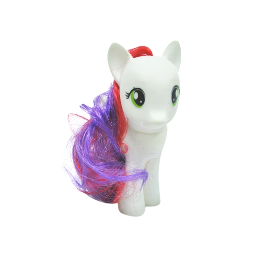 New Small Tony Horse Toy Garage Kit Figure Rainbow Environmental Miniature Model Kids Toy Accessory Christmas Gift