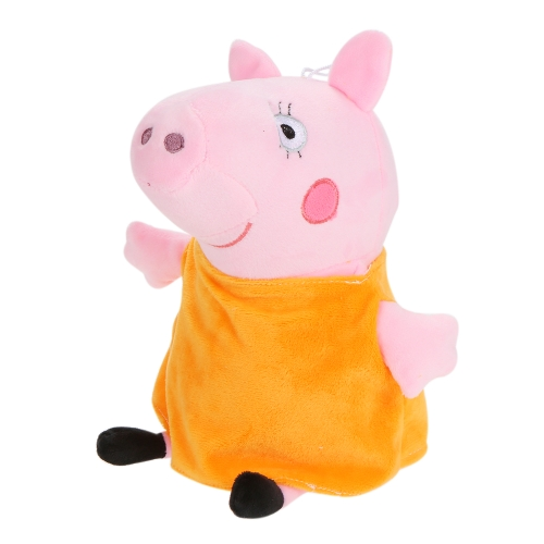 Cute Peppa Family Pig Плюшевые мягкие игрушки с симпатичными сумочками Family Party Dolls Kids Birthday Gifts