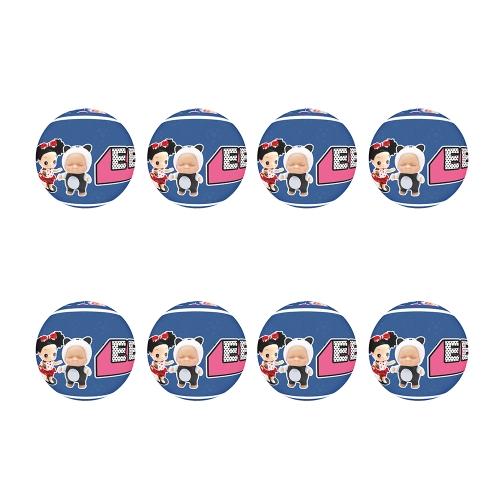 8Pcs Confused Sleep Surprise Balls 10 Surprises Doll 9Cm