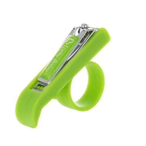 安全な赤ちゃんの爪クリッパー簡単なグリップ爪の新生児の幼児のための爪のカッター