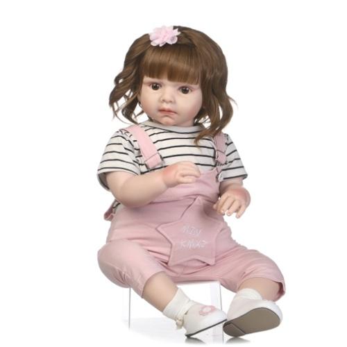 27in Reborn Baby Rebirth Кукла Дети Подарочная ткань Материал Корпус