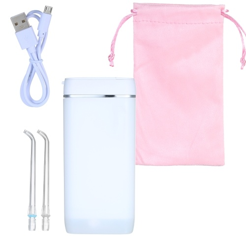 Аккумуляторный очиститель для зубов Water Flosser USB-аккумулятор Портативный стоматологический ирригатор для полости рта