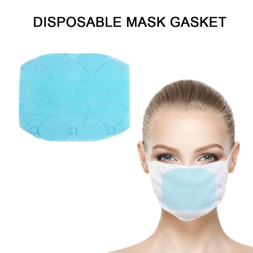 Disposable Protection Hygiene Supply Black Single Double Valve Dust Mask Square Round Mask Pad