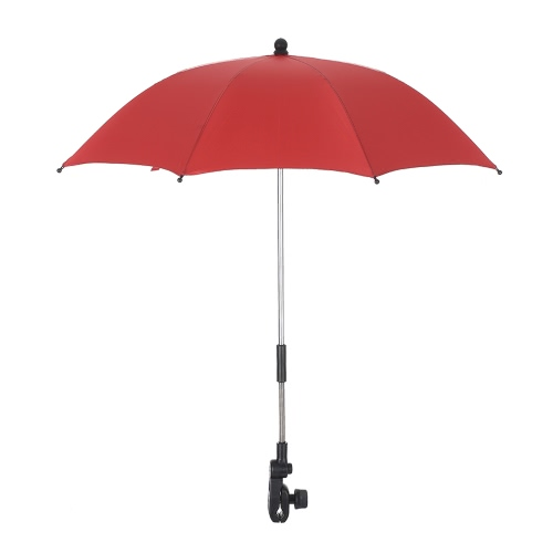 Baby Stroller Umbrella Sun Shade Rain Canopy Wind Shielder can be used on the bike stroller walker motor bicycle