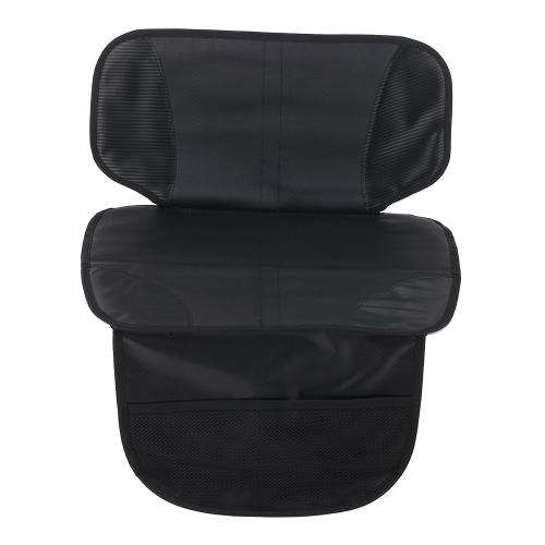 Car Seat Protector Seat Back Cover Pet Mat Half-length Waterproof Non-slip PVC Leather For Baby Infant Kid Safety Seat