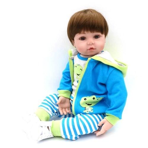 22in Reborn Baby Rebirth Doll Kids Gift Frog