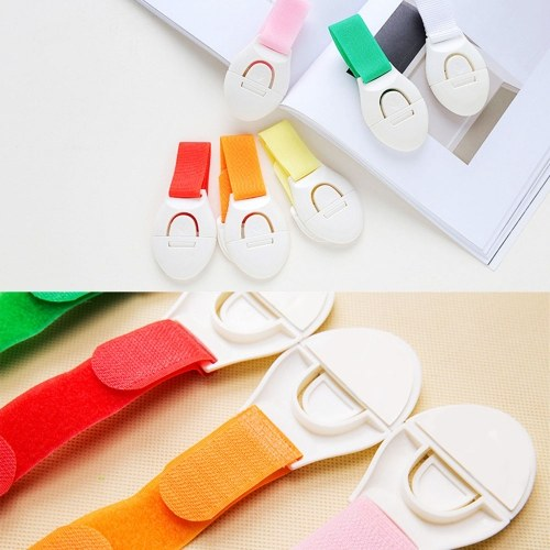 6PCS Child Colorful Lock Protection Of Children Locking Doors Safety