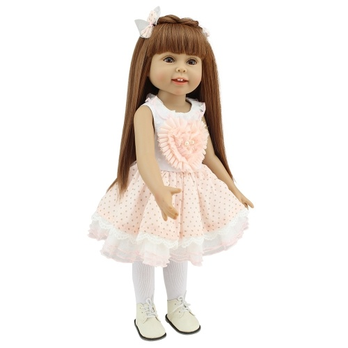 18in Reborn Baby Rebirth Doll Kids Gift All Plastic Girl