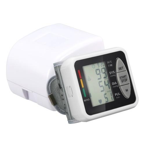 Elektronisches Blutdruckmessgerät am Handgelenk Intelligenter elektronischer B-Lood-Druckmonitor 99 Speichergruppen