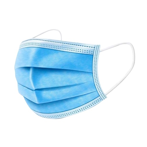 TOMTOP / Disposable Face Mask Adaptable Nose Bar 3-Layer Protective Face Mask