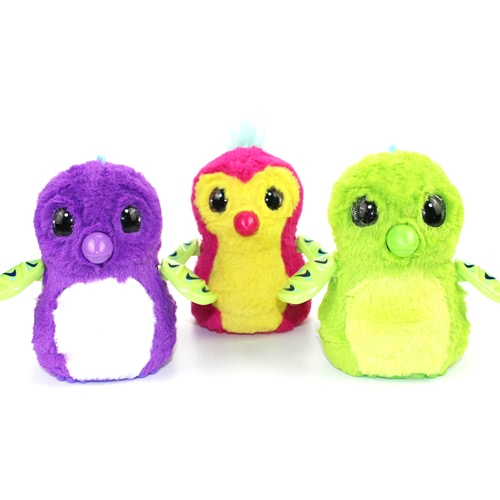 Interactive Cute Fantastic Hatch Incubated Egg Decompression Toy Novelty Growing Egg Christmas Gift for Kids
