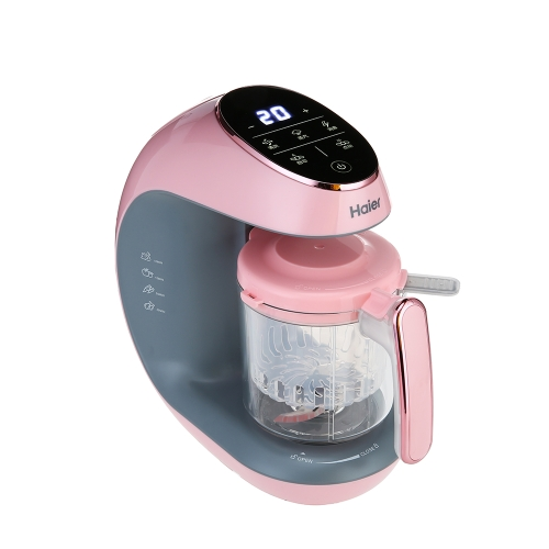 Haier Multu-function Baby Food Processor Ultra cichy Potężny 4-w-1 Steamer Blender Sterilizaton Cooking Cleaning