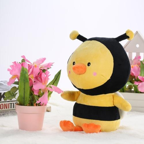 Image of Gefüllte Biene Huhn Stil Plüsch Spielzeug Marienkäfer Huhn Tuch Puppe Kissen Kissen Kinder Spielzeug Geschenk