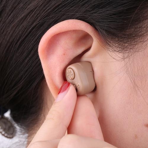 AXON Digital Ear Hearing Sound Amplificatore Enhancer ITC Volume Control