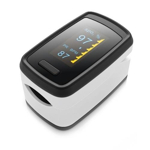Digital Fingertip Pulse Oximeter OLED Display Blood Oxygen Sensor