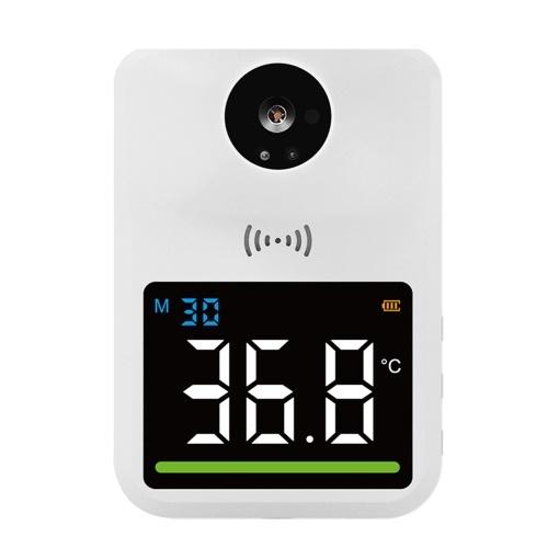 Infrarot-Thermometer Berührungslose Temperaturpistole Winterthermometer HD-Bildschirm 99 Datenspeicher ℃ / ℉ Einheit 30 Tage Standby Weiß Farbe