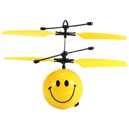Flying Balls Electronic Infrared Induction Aircraft Toys LED Light Mini Helicopter For Kids