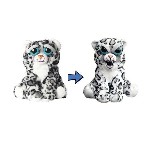 Zmień twarz zwierzaka pluszowego z ekspresją Zabawna wypchanych zwierząt myśliwskich lalek zwierząt