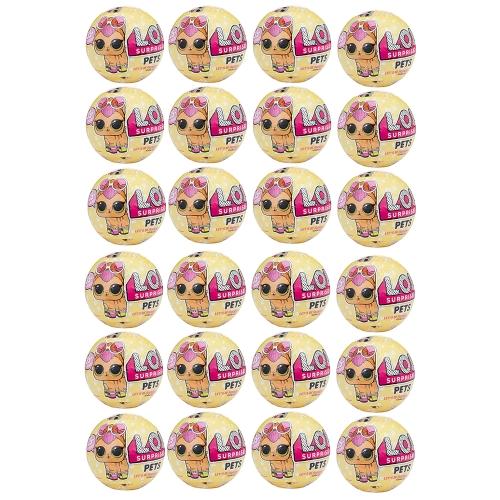 24Pcs Lol Egg Doll Toy Mystery Baby Домашние животные