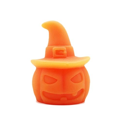 6Pcs Soft Glue Pumpkin Toy Healing Squeeze Stretch