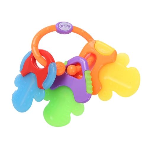Gryzaki dla niemowląt Gryzaki dla molekuł Zabawki z nie trującego żelu Ice Chew Toy Protect Guums