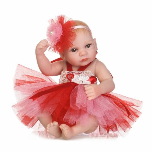 10in Reborn Baby Rebirth Doll Kids Gift Red