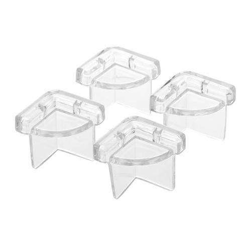 4Pcs / Pack Безопасность Угловой гвардейский стол Угловая подушка для столов и мебели и острых углов Baby Proofing