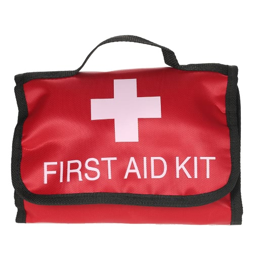 34PCS All-Purpose Water-Proof First Aid Kit Medical Emergency Bag