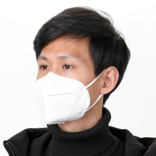 10Pcs/Set Disposable Face Mask KN95 Anti PM2.5 95% Filtration Non-woven Fabric Protective Masks for Dust Particles Pollution Gift