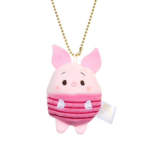 Cute Cartoon Bear Pig Elephant Doll Toys Mini Plush Dolls Stuffed Toys Kids Birthday Gift Keychain