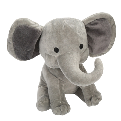 Cómodo y suave elefante de felpa Baby Sleep Friends Cute Bedtime Doll