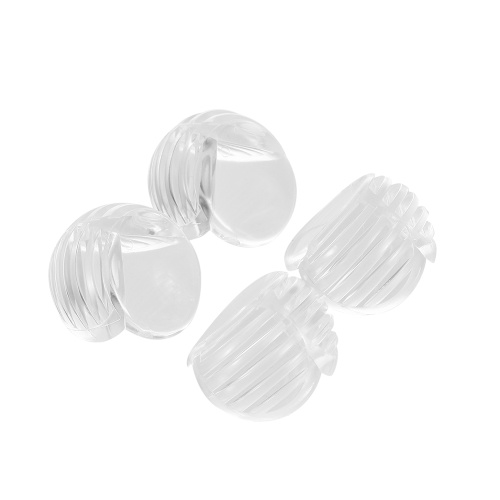4Pcs/Pack Safety Clear Round Corner Guards Table Corner Cushion Protector for Tables & Furniture & Sharp corners Baby Proofing
