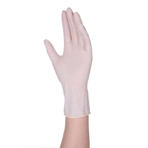 Decadeal 100PCS Disposal Latex Gloves Powder Free Перчатки для экзаменов