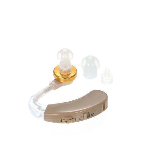 AXON F-139 Oído detrás Audífono Amplificador orejas izquierda y derecha común 4 archivos de volumen ajustable