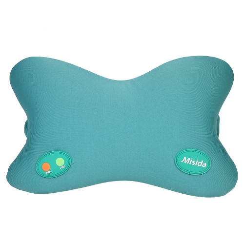 Misida 6 Mode Electric Ergonomic Neck Vibrating Massage Pillow