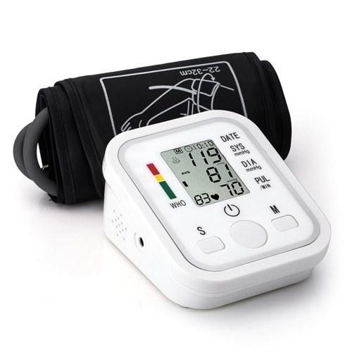 上腕式自動電子血圧計