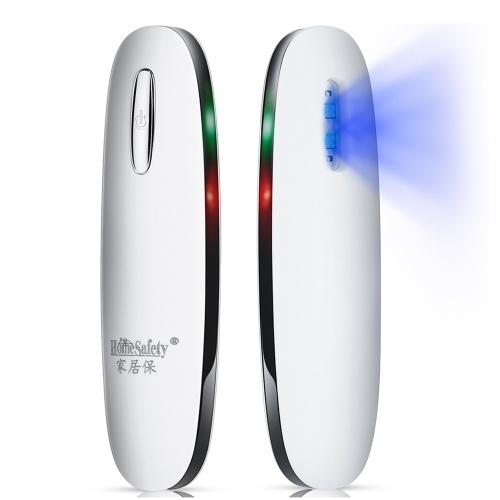 HomeSafety Tragbarer UV-LED-Sterilisator Mini-UV-Lampendesinfektor UV-Desinfektionsgerät für Heimreisen