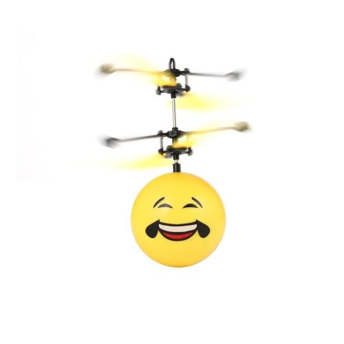 Летающие шарики Электронные инфракрасные индукционные игрушки для самолетов Светодиодные мини-вертолеты для детей