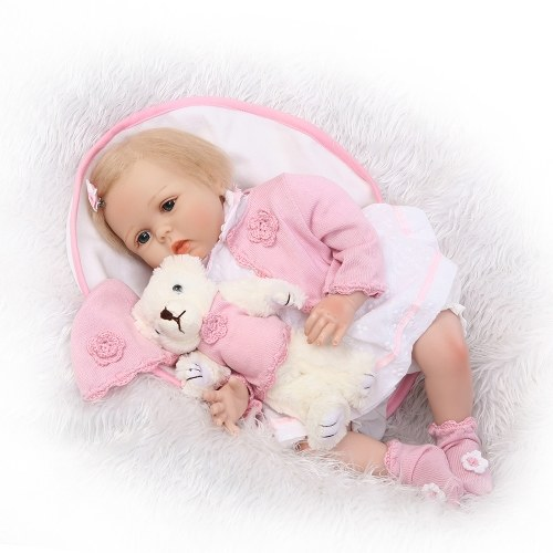 21in Reborn Baby Rebirth Doll Kids Gift Cloth Material Body