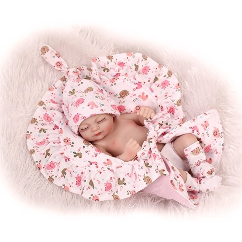10in Reborn Baby Rebirth Doll Kids Gift Все силиконовые гель-девушки